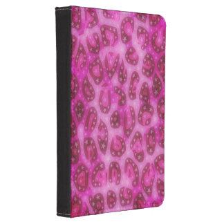 Guepardo brillante rosado funda para kindle 4