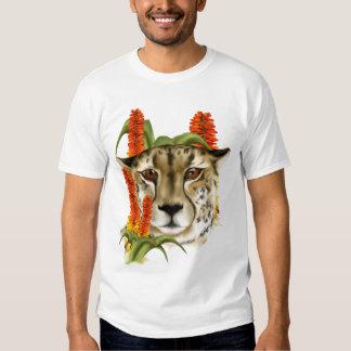 Guepardo con la camiseta del áloe poleras