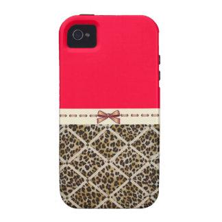 Guepardo con un caso de Iphone 4/4s del arco iPhone 4/4S Funda
