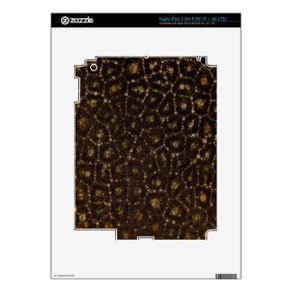 Guepardo de Brown del oro iPad 3 Skins