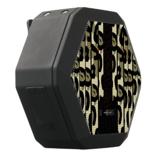 Guepardo de lujo Camo Altavoces Bluetooth Negros Boombot REX