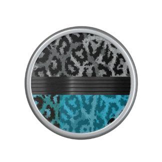 Guepardo de lujo de la turquesa altavoz bluetooth