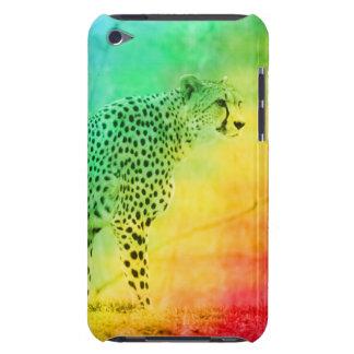 Guepardo del arco iris iPod touch Case-Mate protectores
