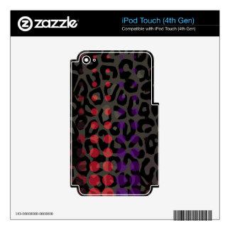 Guepardo del lunar iPod touch 4G skin