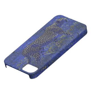 Guepardo en el caso del iPhone 5 del arte de la fa iPhone 5 Case-Mate Protectores