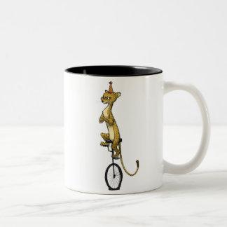 """""""Guepardo en taza de un Unicycle"""""""