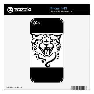 Guepardo magnífico y salvaje skins para eliPhone 4S