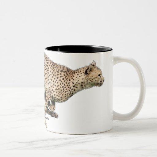 guepardo taza dos tonos