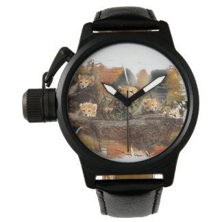 Guepardo y relojes de encargo de Cubs