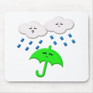 Guerilla Rainstorm Mouse Pad