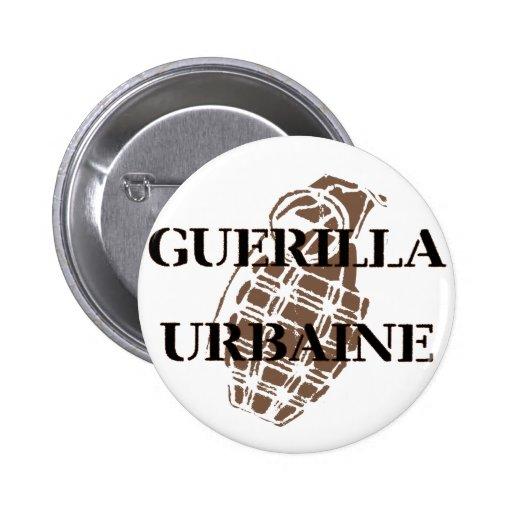 Guerilla Urbaine Pinback Button
