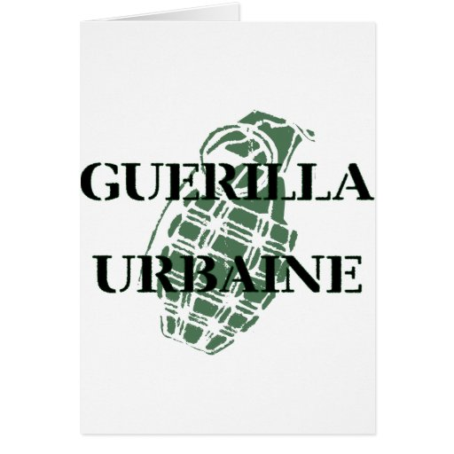 Guerilla Urbaine Greeting Cards