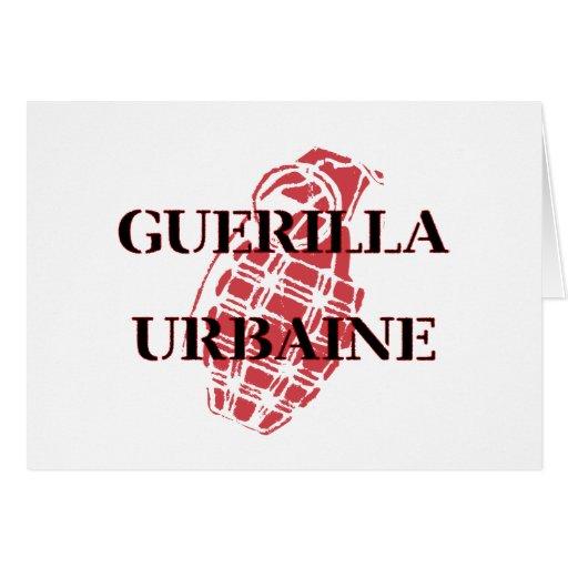 Guerilla Urbaine Cards