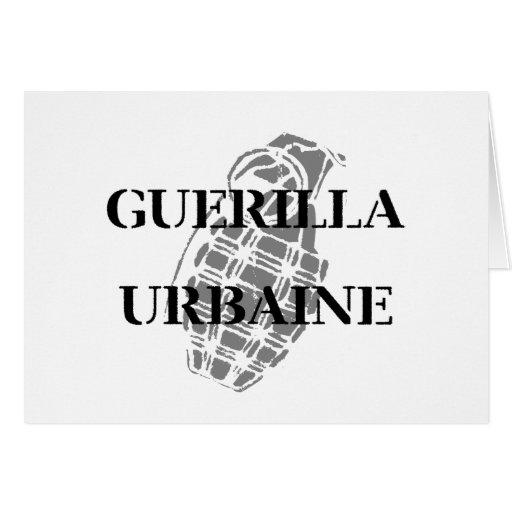 Guerilla Urbaine Card