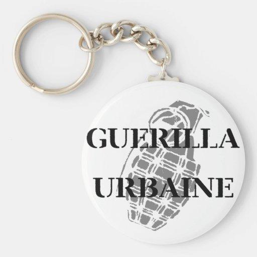 Guerilla Urbaine Key Chains