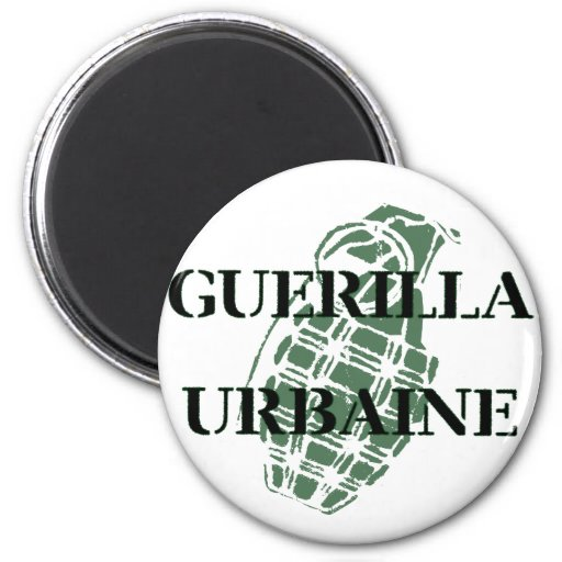 Guerilla Urbaine Magnets