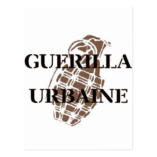 Guerilla Urbaine Post Card