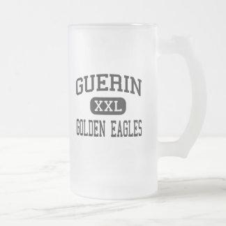 Guerin - Eagles de oro - católico - Noblesville Taza Cristal Mate