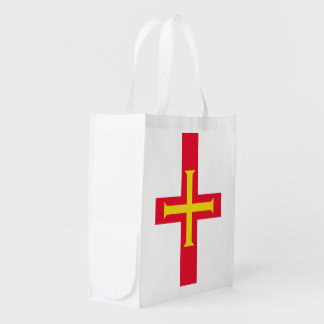 Guernesey Flag Grocery Bag