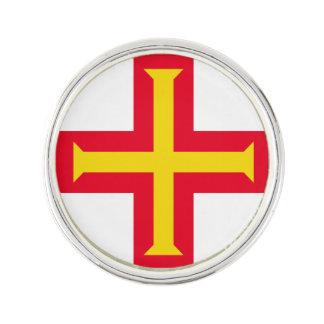 Guernesey Flag Lapel Pin
