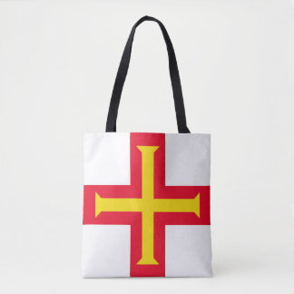 Guernesey Flag Tote Bag