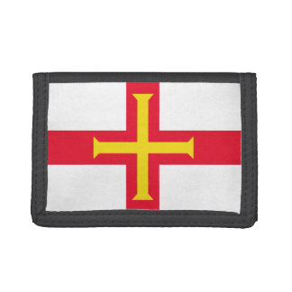 Guernesey Flag Trifold Wallet
