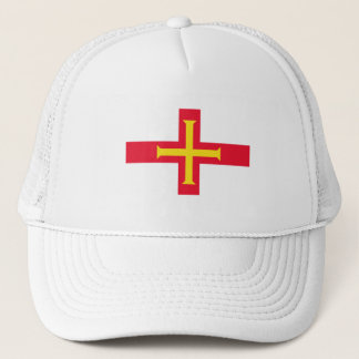 Guernesey Flag Trucker Hat