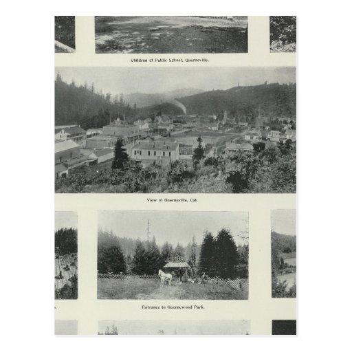Guerneville, California Postcard