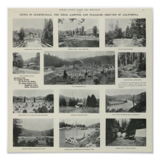 Guerneville, California Posters