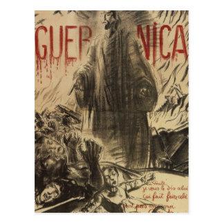Guernica (1938)_Propaganda Poster Postcard