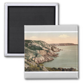 Guernsey, coast at Gouffre, Channel Islands, Engla Magnet