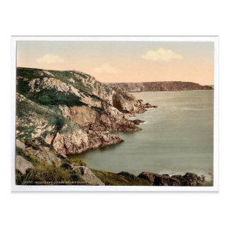 Guernsey, coast at Gouffre, Channel Islands, Engla Postcard