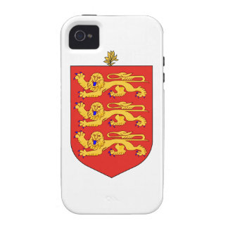 Guernsey Coat of Arms Case-Mate iPhone 4 Cover