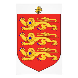 Guernsey Coat of Arms Stationery