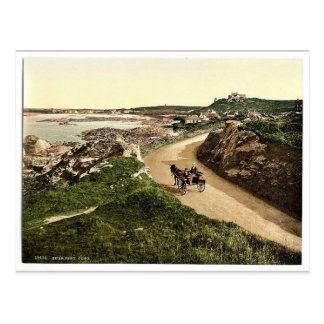 Guernsey Cobo Channel Islands England vintage P Post Card