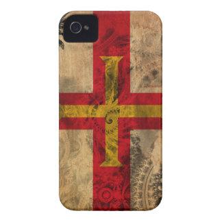 Guernsey Flag iPhone 4 Case-Mate Case