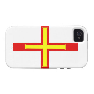 Guernsey Flag iPhone 4/4S Cases