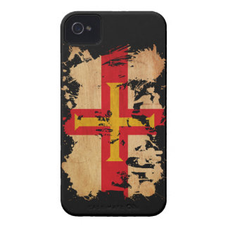 Guernsey Flag Case-Mate iPhone 4 Cases