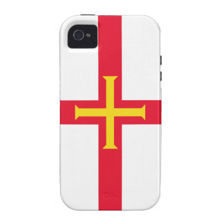 Guernsey Flag Channel Islands Vibe iPhone 4 Covers