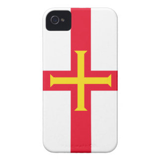 Guernsey Flag Channel Islands Case-Mate iPhone 4 Cases
