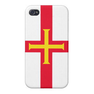 Guernsey Flag Channel Islands iPhone 4/4S Case
