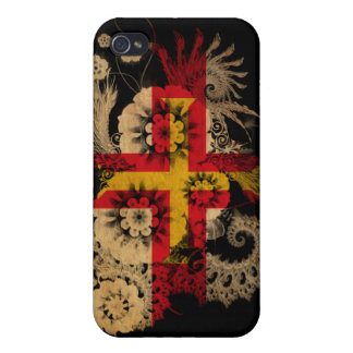 Guernsey Flag iPhone 4 Cover