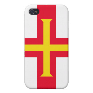 Guernsey Flag iPhone 4/4S Cover