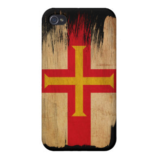 Guernsey Flag Case For iPhone 4