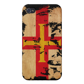 Guernsey Flag Covers For iPhone 4
