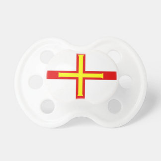 Guernsey Flag Baby Pacifiers