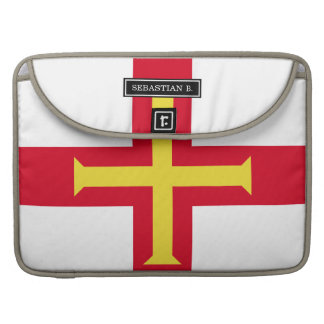 Guernsey Flag Sleeve For MacBooks