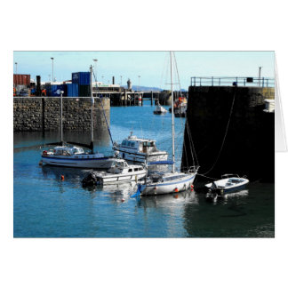 Guernsey Harbour Greeting Card