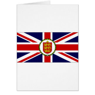 Guernsey Lieutenant Governor Flag Greeting Card