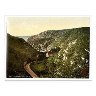Guernsey, Petit Bot, Channel Islands, England vint Postcard